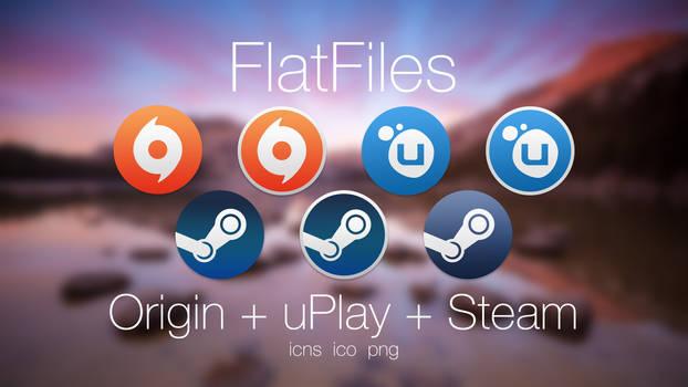 FlatFiles - Origin + uPlay + Steam