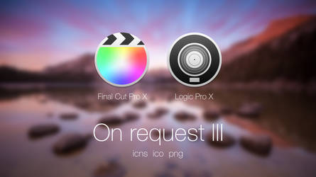 On request 3 - Final Cut Pro X, Logic Pro X