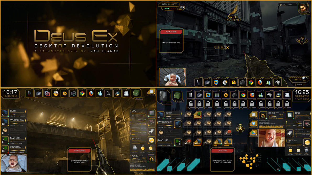 Deus Ex: Desktop Revolution by Llanas