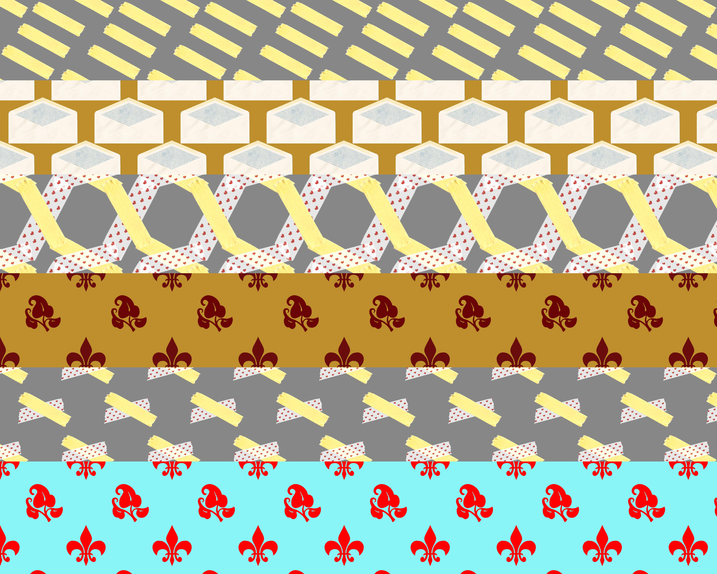 Various Tileable Patterns by JayTheJedi