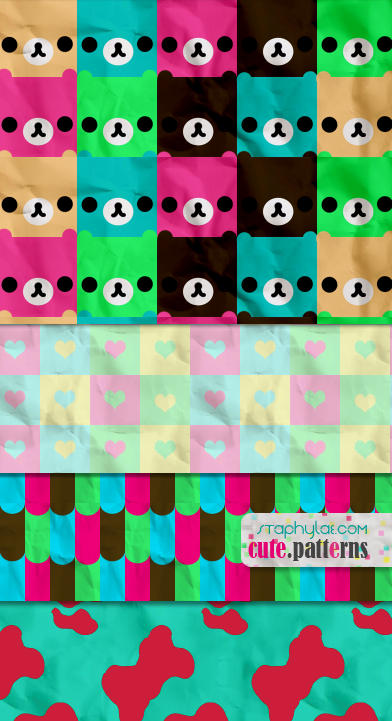 cute patterns by anliah