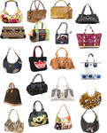 Fashion bags png icons
