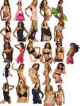 Victoria Secret models png ico