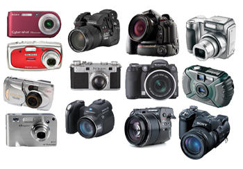 Digital cameras png icons by amirajuli