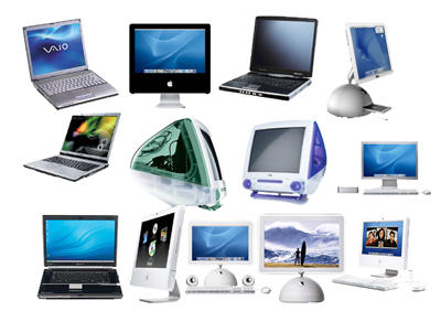 Computers png icons by amirajuli