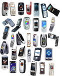 Mobile phones png icons 3