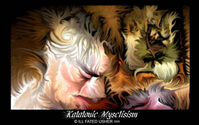 Katatonic Mysticism print by ILL-FATED-USHER
