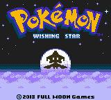 Pokemon: Wishing Star Title Screen (GIF)