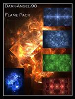 Dark-Angel-90 Flame pack by Dark-Angel-90