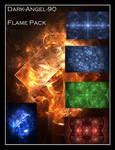 Dark-Angel-90 Flame pack