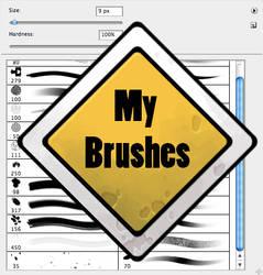 My brush set by Gimaldinov