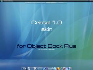 Cristal 1.0 skin Object Dock