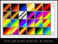 Dark and Bright Gradients by heyshel