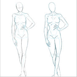 Figure drawing demo by RaSen