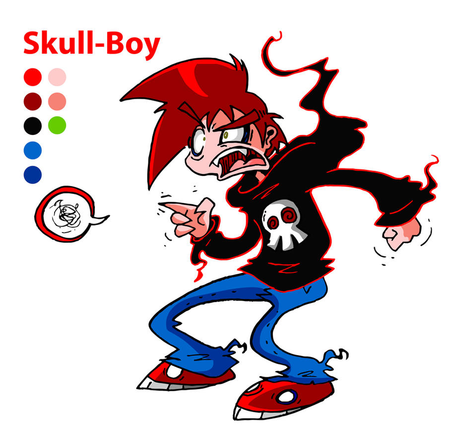 Skull-Boy Color Reference ZIP by skull-boy666