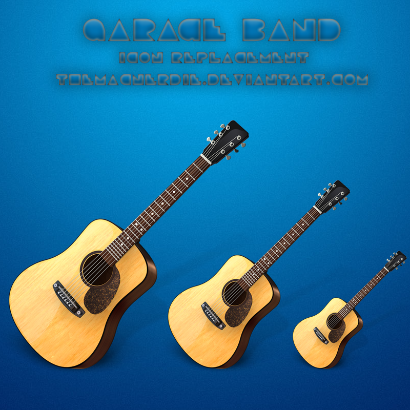 Nice Guitar icon : Garage Band icon for replacement