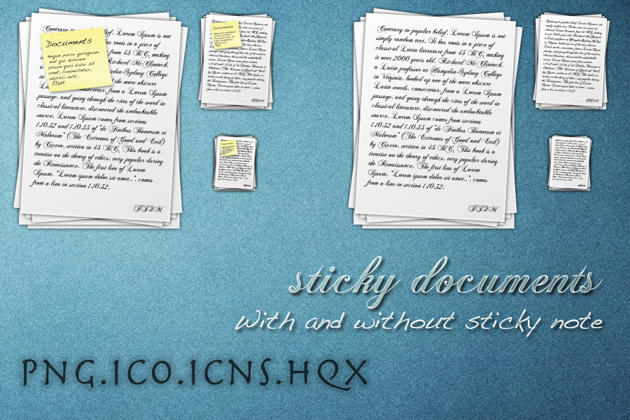 Documents Icon by TheMacNerdie