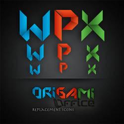 Origami office by TheMacNerdie