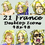 Desktop Icons- France by APHicons