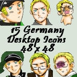 Desktop Icons- Germany by APHicons