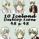 Desktop Icons- Iceland by APHicons