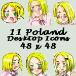 Desktop Icons- Poland by APHicons