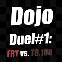 Dojo Duel! Fry VS. TG.108 by HamenArt