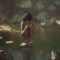 Jungle Boy (Painting steps)