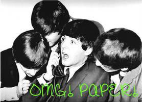 OMG Paper! by BeatlesBaabe
