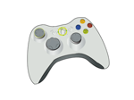 Illustrator Xbox joystick by phoonaru