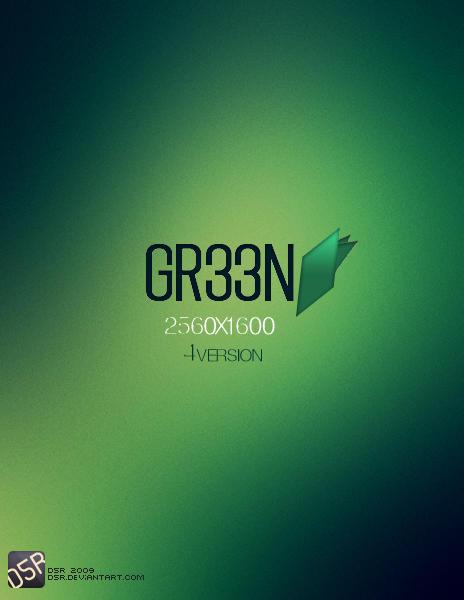 Gr33n by d5r
