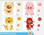 Delightful Zodiac