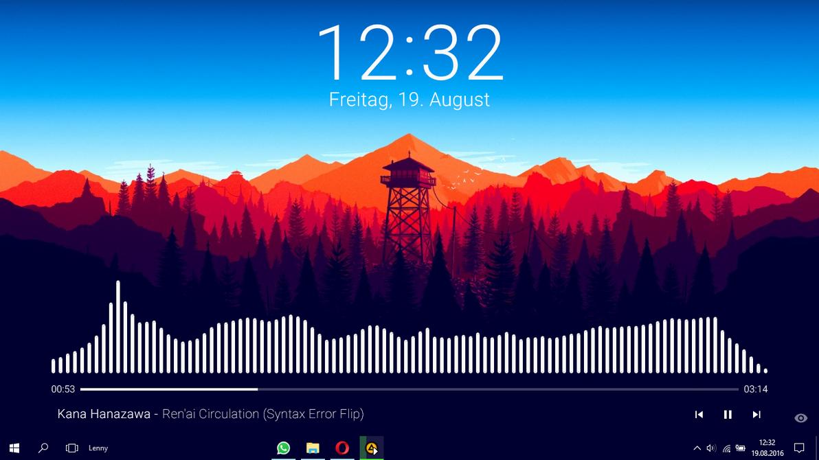 Minimalistic Music Player By 5onderling On DeviantArt