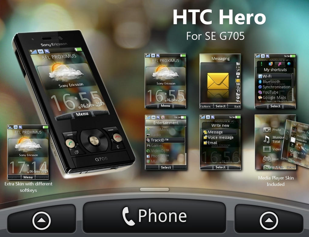 HTC Hero For G705 Final by angeluson