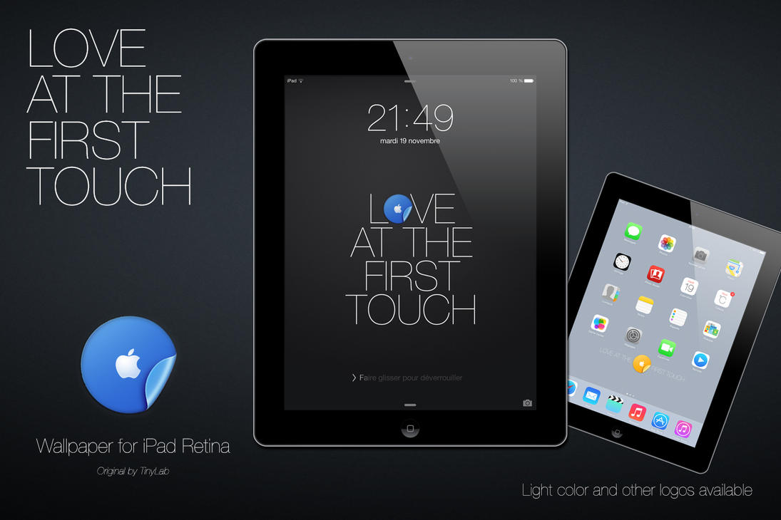 Love iPad with iOS7 at the first touch by angeluson