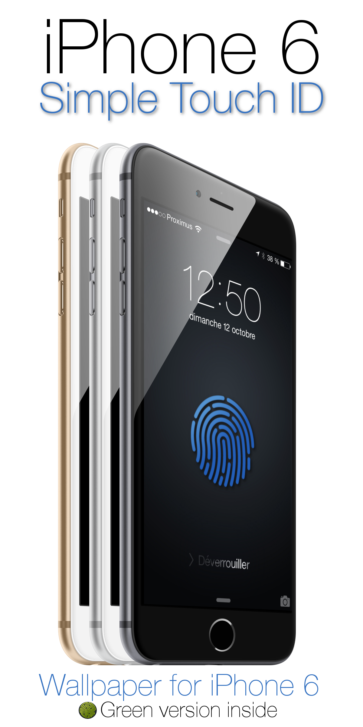 Simple Touch ID by angeluson