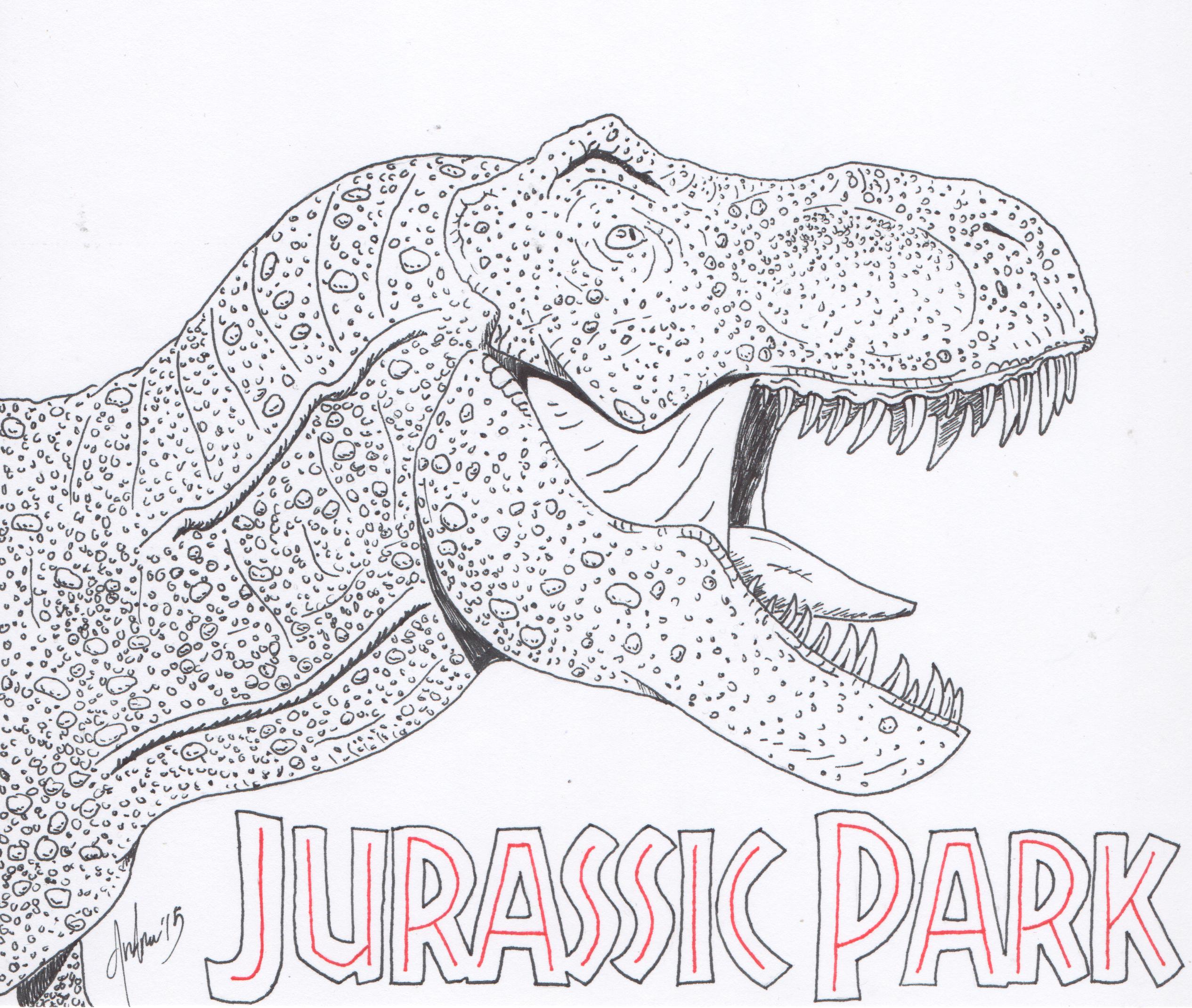 Dibujos Para Colorear De Jurassic World Indominus Rex Pinta Y