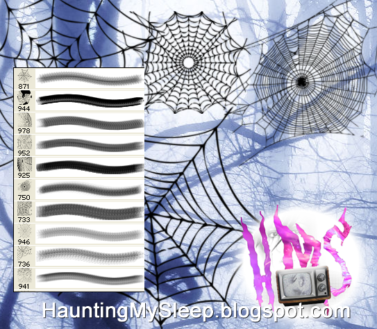 10 Spider Web Brushes