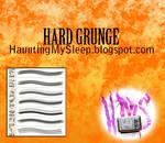 Hard Grunge Photoshop Brushes