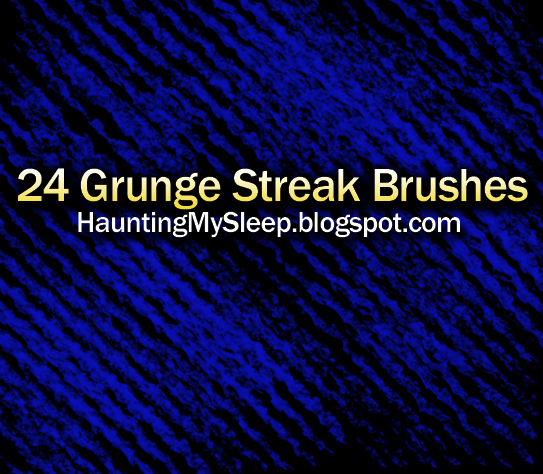 24 Grunge Streak Brushes