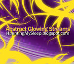 15 Abstract Glowing Streams
