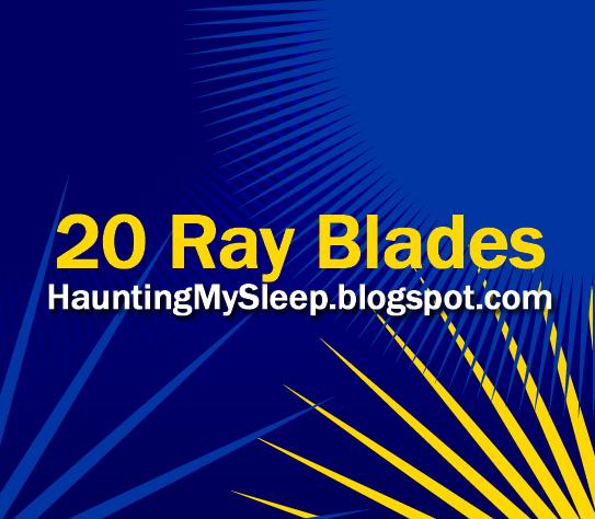 20 Ray Blades by Killa-Cary
