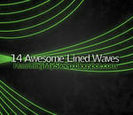 14 Awesome Lined Waves