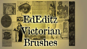Victorian Brushes for Photoshop