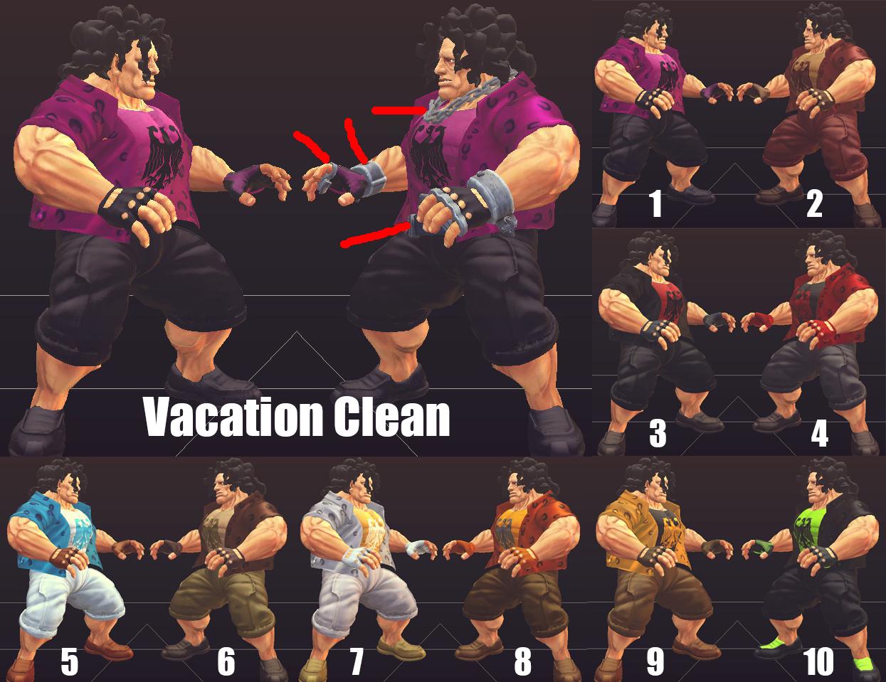HUGO Vacation Clean by Daguas79
