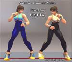 Sakura Cosplay: Chun-Li (Alpha)