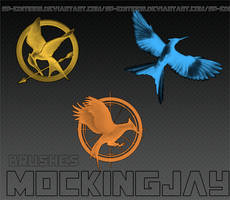 Brushes Mockingjay