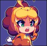 Saber Lion | Pixel Dailies by Level2Select