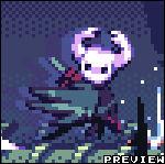 Hollow Knight vs Hornet   Pixel Dailies