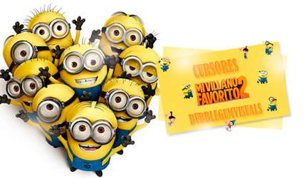 Cursores Mi villano favorito +cursor animado by bubblegumvisuals